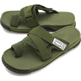 SHAKA シャカ サンダル 靴 メンズ・レディース トリッパー OLIVE  433039 SS18