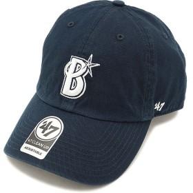 フォーティーセブン '47 キャップ DeNA Baystars CLEAN UP 横浜ディーエヌエーベイスターズメンズ レディース アジャスタブルキャップ 帽子 NAVY  RGW11GWSNL
