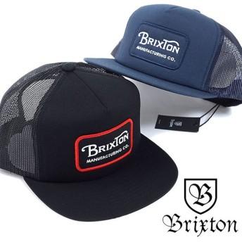 BRIXTON ブリクストン メンズ レディース トラッカー GRADE MESH CAP グレードメッシュキャップ バックスナップ SS18