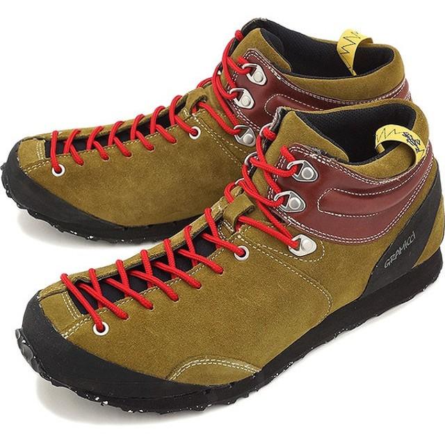 GRAMICCI FOOTWEAR グラミチ フットウェア メンズ レディース スニーカー ガブロ ミッド KHAKI (GR00015016KHAK FW15)
