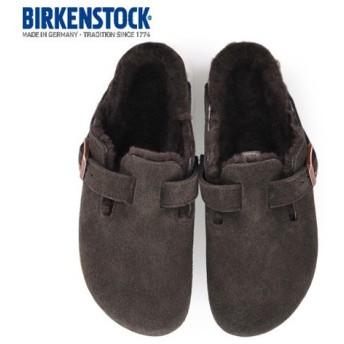 ビルケンシュトック BIRKENSTOCK ボストン ファー モカ ボア ミンク BOSTON Fur 106409 レディース サンダル サボ クロッグ 靴 本革 セール