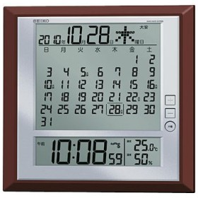 掛置兼用デジタル電波時計 セイコー(SEIKO) SQ421B