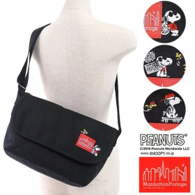 スヌーピーコラボ マンハッタンポーテージ×ピーナッツ Manhattan Portage PEANUTS SNOOPY Casual Messenger Bag  MP1605JRSSNPY16 FW16