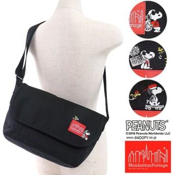 スヌーピーコラボ マンハッタンポーテージ×ピーナッツ Manhattan Portage PEANUTS SNOOPY Casual Messenger Bag  MP1605JRSSNPY16 FW16