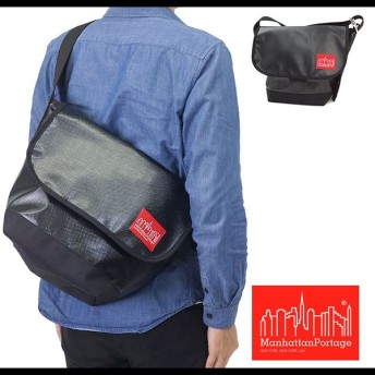 Manhattan Portage マンハッタンポーテージ バッグ PVC Vintage Messenger PVC メッセンジャーバッグ ManhattanPortage BLACK MP1605VVL-2