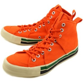 リズムフットウェア Rhythm Footwear RFW スニーカー サンドウィッチ ハイ ヘリテージ2 Orange R-1232024