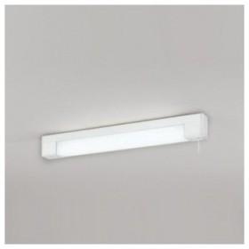 オーデリック LEDキッチンライト FL20W形蛍光灯1灯相当 棚下面取付専用 スイッチ付 マットホワイト 昼白色タイプ OB255037
