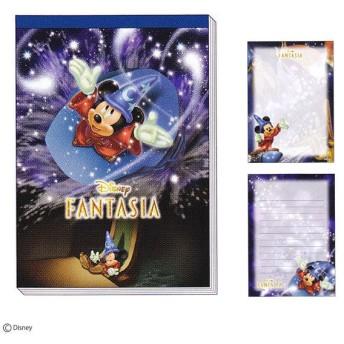 ディズニーファンタジア ミッキーマウス 3DメモA6 DC F2 313597 入園入学祝い 記念日ギフト [M便 1/1]
