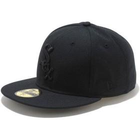 ニューエラ NEWERA キャップ MLB カスタム 59FIFTY シカゴ・ホワイトソックス ブラック/ブラック N0001583 SC NEW ERA