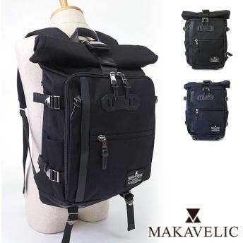 MAKAVELIC マキャベリック バッグ CHASE ロールトップ バックパック リュック デイパック (3106-10108 SS16)