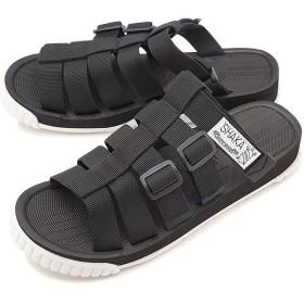 SHAKA シャカ サンダル 靴 メンズ・レディース RALLY SLIDE ラリー スライド ブラック  433035 SS18