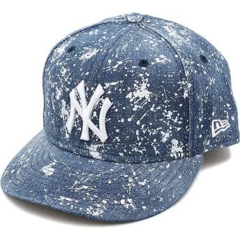 NEWERA ニューエラ キャップ New Era 59FIFTY ニューヨーク ヤンキース スプラッシュプリント 帽子 ウォッシュドデニム 11404778 SS17