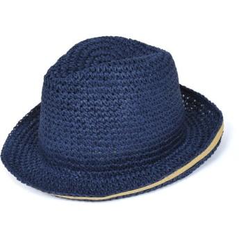 ハローコモディティ halo commodity Carry hat Navy キャリーハット 帽子 ユニセックス 麦わら ストローハット