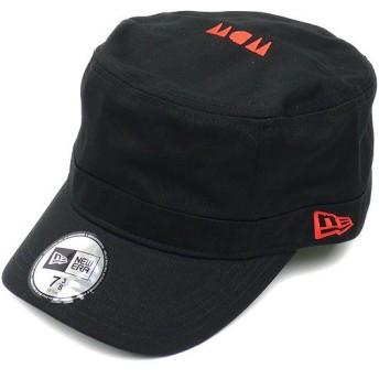 NEWERA ニューエラ キャップ WM-01 WDW SIDE FACE LOGO ブラック/ラディアンレッド (N0009995)(NEW ERA)