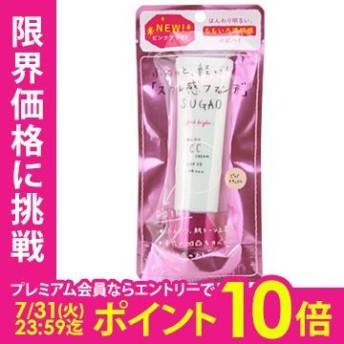 ロート製薬 sugao スガオ エアーフィット CCクリーム 25g ピンクブライト cs 【あすつく】