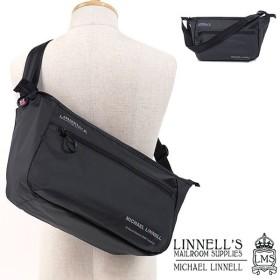 マイケルリンネル MICHAEL LINNELL アーミーコーティング 10L メッセンジャーバッグ A.R.M.Sシリーズ  ショルダーバッグ メンズ ブラック  MLAC-06 SS18