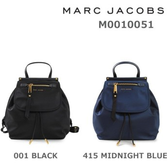 MARC JACOBS (マークジェイコブス) リュック M0010051 001 BLACK 415 MIDNIGHT BLUE バックパック バッグ レディース
