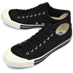 Rhythm Footwear リズムフットウェア Rhythm Footwear  スニーカー BAGEL LO STANDARD ベーグル ロー スタンダード  BLACK (R-1212131 12SS)/完売