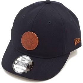 NEWERA ニューエラ キャップ New Era 9TWENTY ショートバイザー レザーパッチ ベースボールキャップ 帽子 ネイビー/ブラウンレザー  11404717 SS17