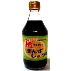 今井醤油店 今井醤油 橙ぽんずしょうゆ 500ml×6本