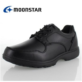 MoonStar ムーンスター MS RP001 ブラック メンズ 防水設計 4E コンフォートカジュアル ウォーキング ビジネス