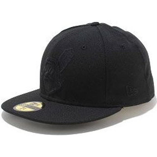 NEWERA ニューエラ キャップ MLB カスタム 59FIFTY クリーブランド・インディアンズ ブラック/ブラック(N0001877 SC)(NEW ERA)