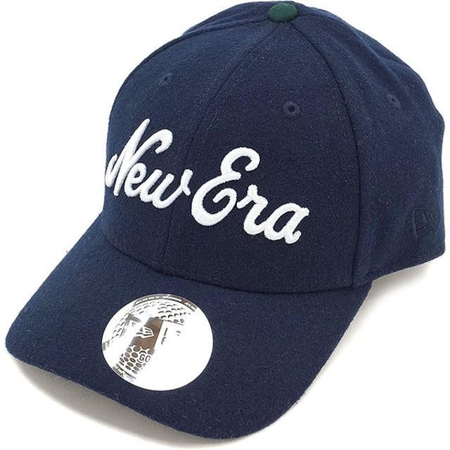 ニューエラ ゴルフ メルトン ゴルフキャップ NEWERA 帽子 9FORTY GOLF CAP ネイビー/ミッドナイトネイビー  11322330 FW16