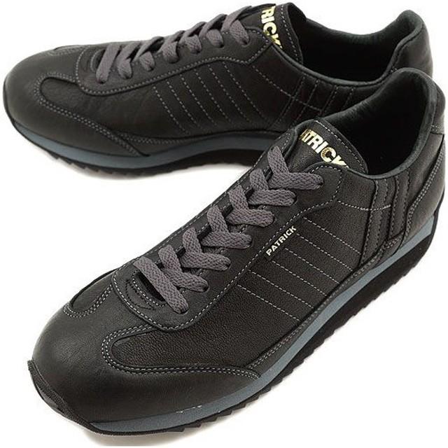 PATRICK パトリック スニーカー 靴 マラソン・シープ BLK 525001