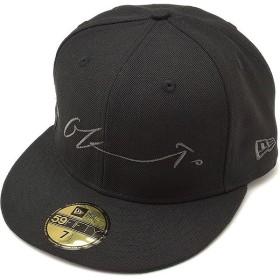 NEWERA ニューエラ キャップ 59FIFTY 岡本太郎 シグネイチャー ベースボールキャップ 帽子 ブラック/メタリックブラック  11405416 SS17
