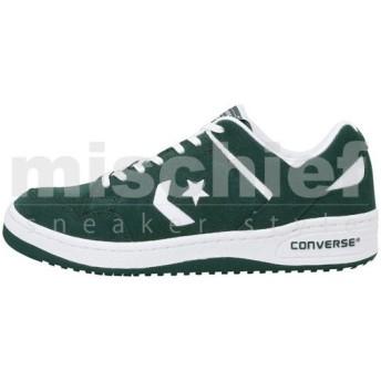 限定モデル コンバース ウェポン スエード ローカット CONVERSE WEAPON SUEDE OX グリーン/ホワイト 32669064 SS16