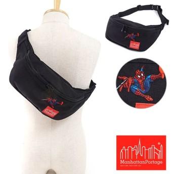 Manhattan Portage マンハッタンポーテージ MARVEL SPIDER-MAN マーベル スパイダーマン Alleycat Waist Bag ボディバッグ MP1100SPIDERMAN FW17