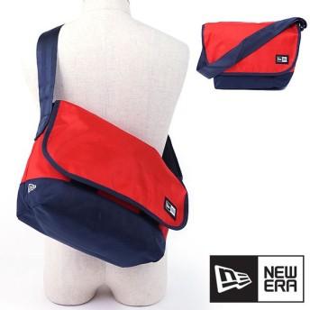 NEWERA ニューエラ キャップ バッグ New Era SHOULDER BAG ショルダーバッグ 鞄 メッセンジャーバッグ レッド/ネイビー 11404164 SS17