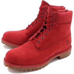 ティンバーランド 6インチ プレミアム ブーツ Timberland メンズ ブーツ Red Nubuck Monochromatic  A1149 FW16