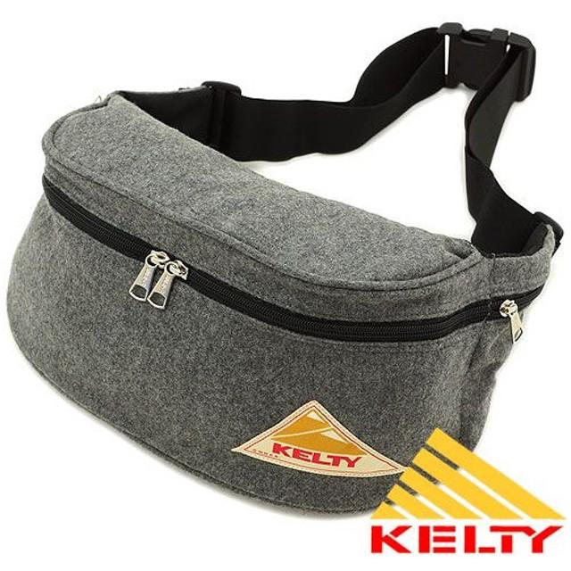 ケルティ KELTY バッグ ヒップバック ウール ミニファニー GRY 2591940