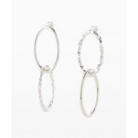 <All Blues/オール・ブルース> ピアス Ellips double earrings(101380) silver 【三越・伊勢丹/公式】