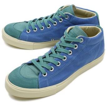 Rhythm Footwear リズムフットウェア Rhythm Footwear  スニーカー BAGEL ASA べーグル アサ BLUE/TURQUOISE (R-1112033 11SS)/セール/完売