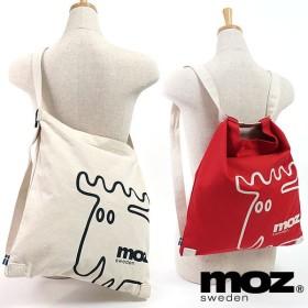 moz モズ バッグ ZZGB-02 3WAYショルダーバッグ リュックサック レディース・メンズ ZZGB-02 SS18 メール便対応