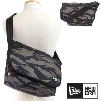 NEWERA ニューエラ キャップ バッグ New Era SHOULDER BAG ショルダーバッグ 鞄 メッセンジャーバッグ TSCオリーブ/ブラック 11404160 SS17
