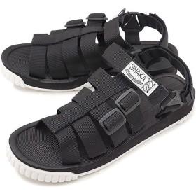 SHAKA シャカ サンダル 靴 メンズ・レディース RALLY ラリー BLACK ブラック  433033 SS18