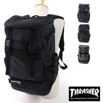 THRASHER スラッシャー リュック ボード収納フラップバックパック かぶせ デイパック  THRPN-8900 SS17