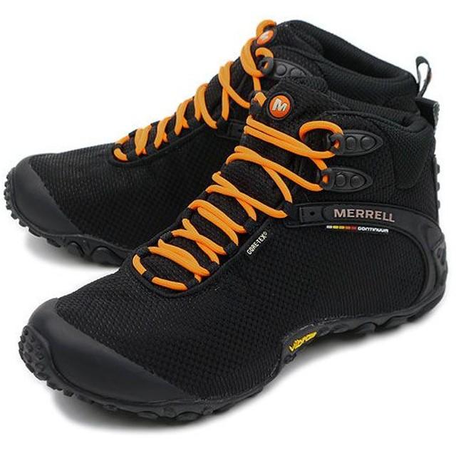 メレル MERRELL 靴 カメレオン ストーム ミッド ゴアテックス XCR メンズ BLACK  588637