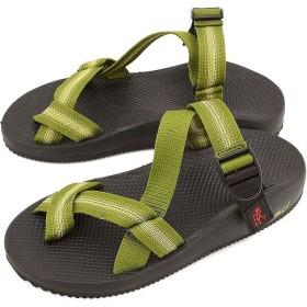 GRAMICCI FOOTWEAR グラミチ フットウェア メンズ レディース サンダル カクタス フリップ ストラップサンダル KHAKI/GREEN  GR00015015KHGR SS15