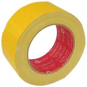 布カラーテープ No.3362 スリオンテック No.3362 50mm×25m 黄