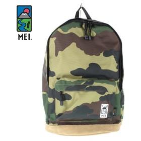 MEI メイ エムイーアイ MEIB-130 グリーン カモフラージュ デイパック リュック バッグ