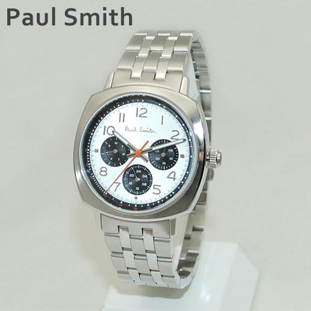 e917137492 ポールスミス 時計 メンズ P10044 ATOMIC Paul Smith 腕時計 ウォッチ ブレス シルバー