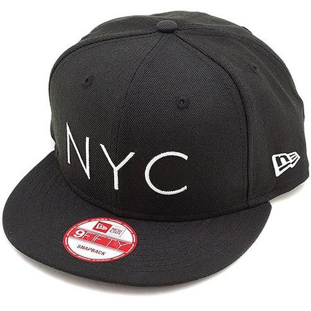 ニューエラ NEWERA キャップ 9 FIFTY ナインフィフティー NYC BLK/S.WHT  N0021975 SS14/NEWERA