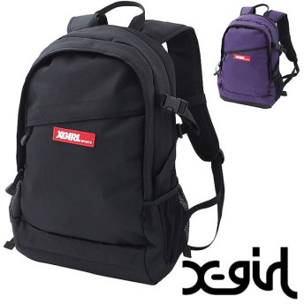 X-girl エックスガール スポーツ リュック デイパック HIKING BACKPACK ハイキング バックパック 5186006 SS18