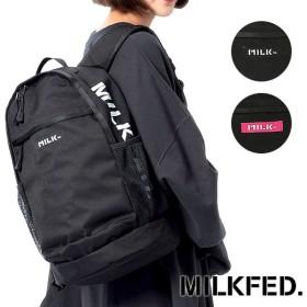 MILKFED. ミルクフェド リュック デイパック サイド ロゴ バックパック  3181001 SS18
