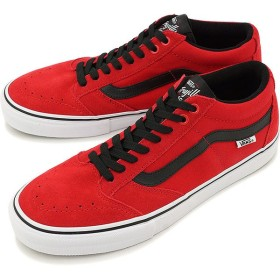 バンズ VANS スニーカー TNT SG BRIGHT RED/BLACK/WHITE  VN000ZSNIYC SS16