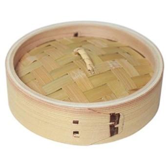 竹の精 Takenosei 中華セイロ 直径15cm 蓋 19003A